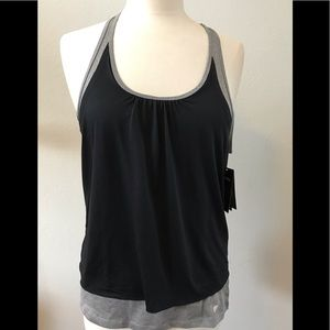 Tops - NWT double layer athletic tank